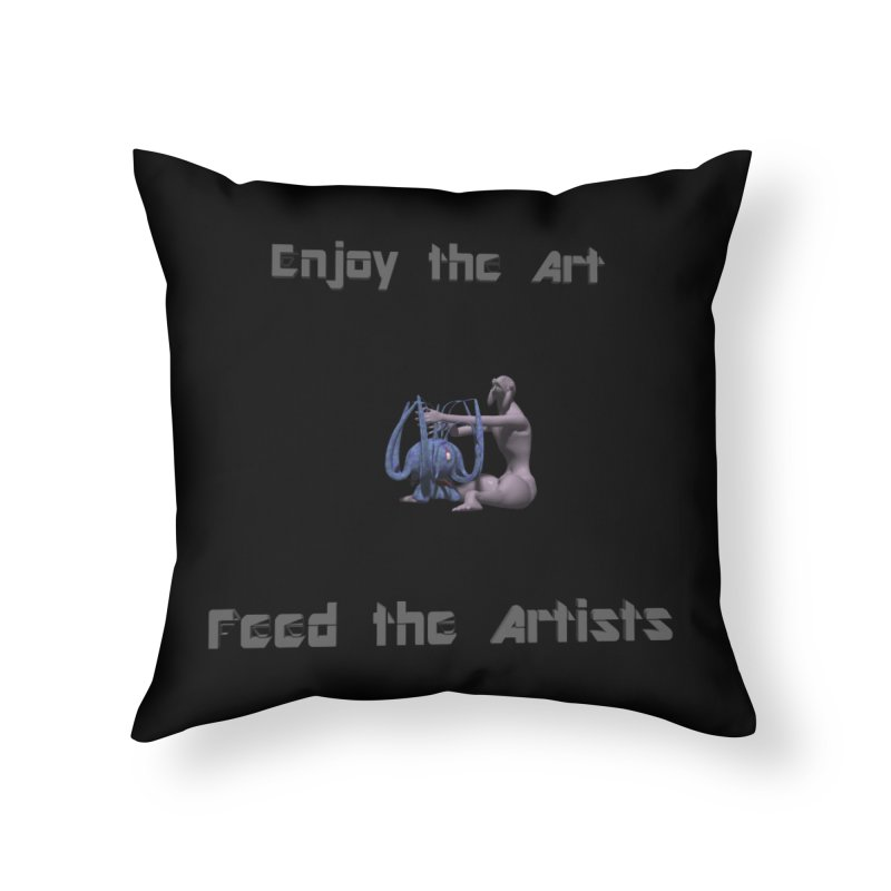 Feed the Artists (Chyrkyan) Home Throw Pillow by CIULLO CORPORATION's Artist Shop