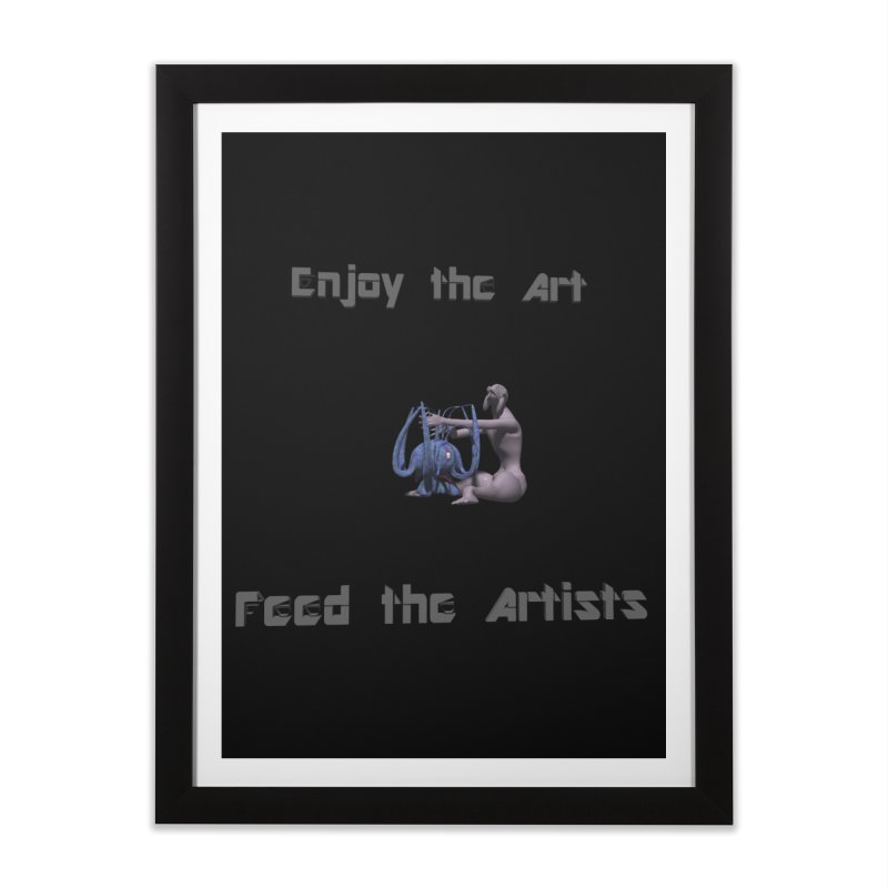 Feed the Artists (Chyrkyan) Home Framed Fine Art Print by CIULLO CORPORATION's Artist Shop