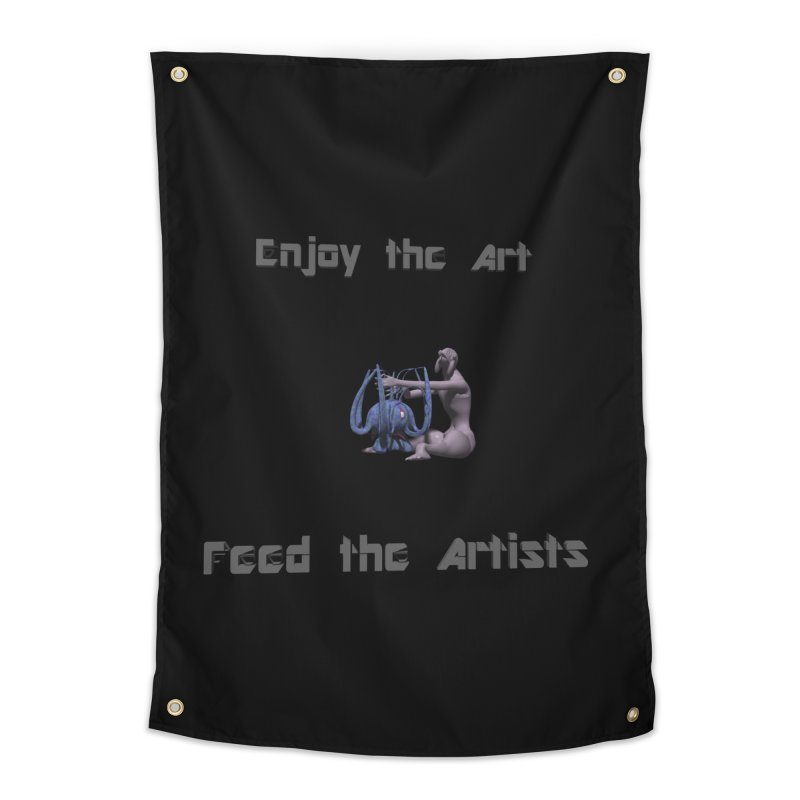 Feed the Artists (Chyrkyan) Home Tapestry by CIULLO CORPORATION's Artist Shop