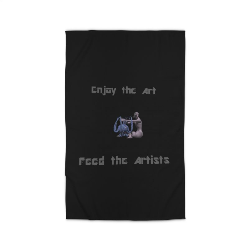 Feed the Artists (Chyrkyan) Home Rug by CIULLO CORPORATION's Artist Shop