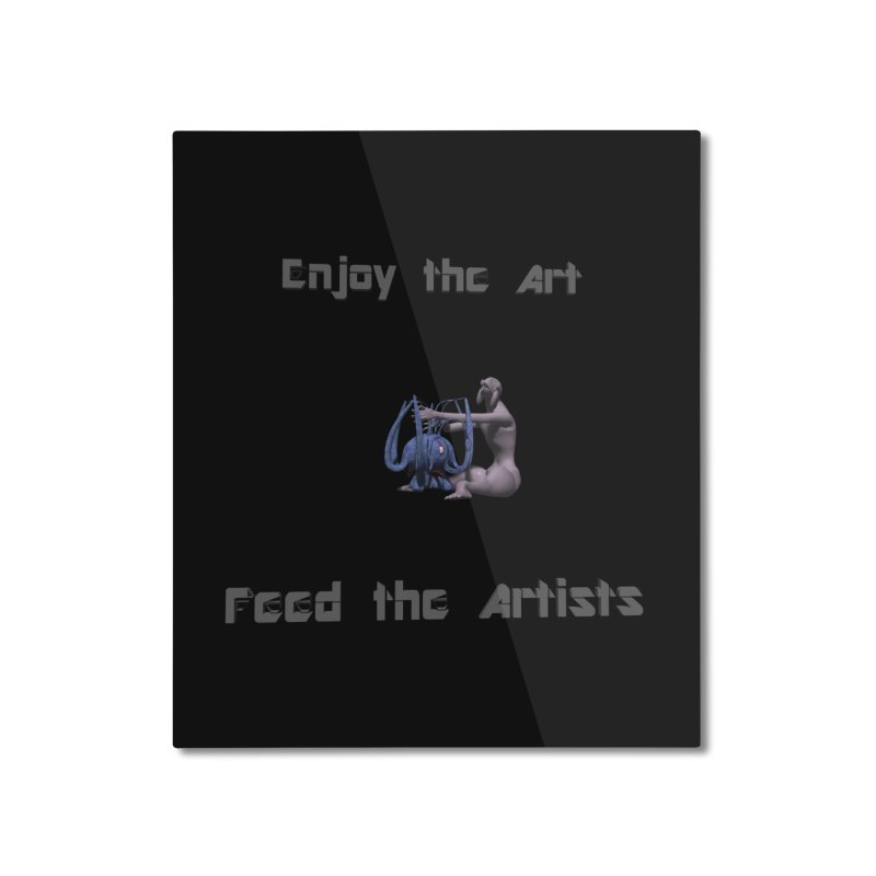 Feed the Artists (Chyrkyan) Home Mounted Aluminum Print by CIULLO CORPORATION's Artist Shop