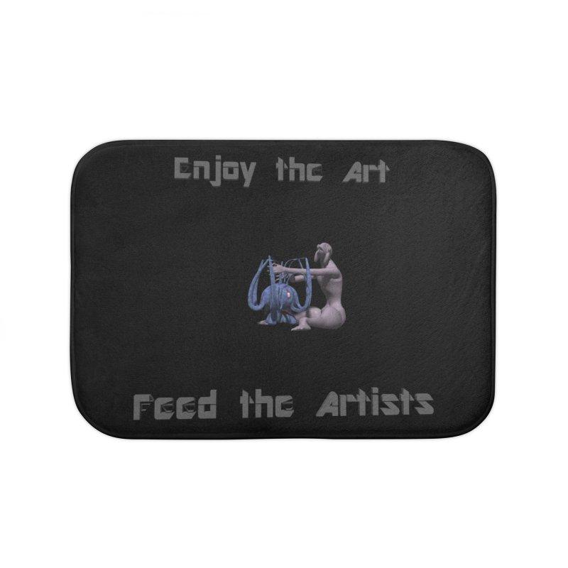 Feed the Artists (Chyrkyan) Home Bath Mat by CIULLO CORPORATION's Artist Shop