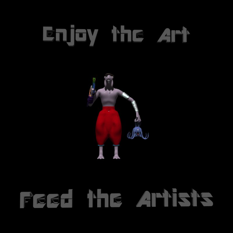 Feed the Artists (Chyrkyan casual) by CIULLO CORPORATION's Artist Shop