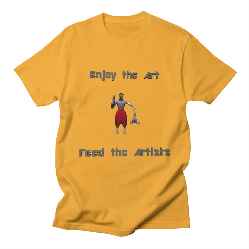 Feed the Artists (Chyrkyan casual) Women's Unisex T-Shirt by CIULLO CORPORATION's Artist Shop