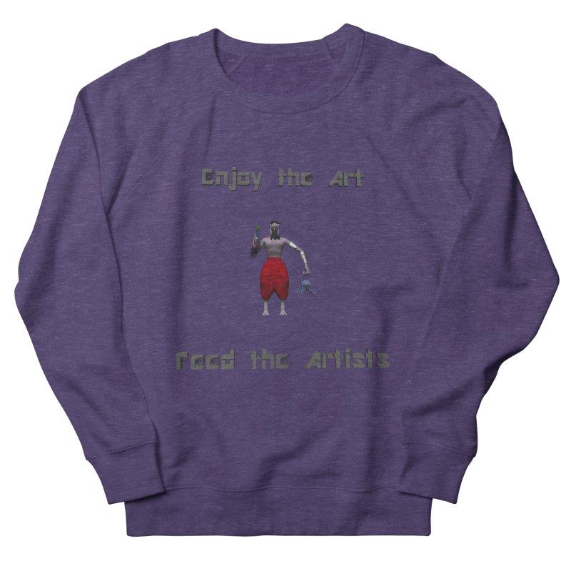 Feed the Artists (Chyrkyan casual) Women's Sweatshirt by CIULLO CORPORATION's Artist Shop