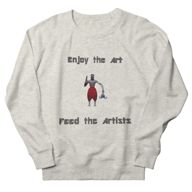 Feed the Artists (Chyrkyan casual) Men's Sweatshirt by CIULLO CORPORATION's Artist Shop