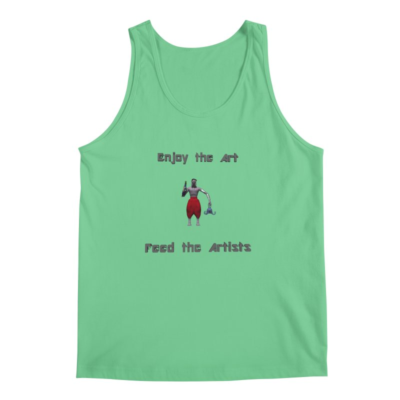 Feed the Artists (Chyrkyan casual) Men's Tank by CIULLO CORPORATION's Artist Shop