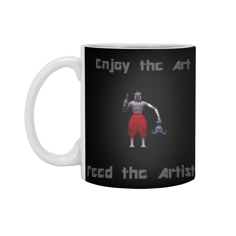 Feed the Artists (Chyrkyan casual) Accessories Mug by CIULLO CORPORATION's Artist Shop
