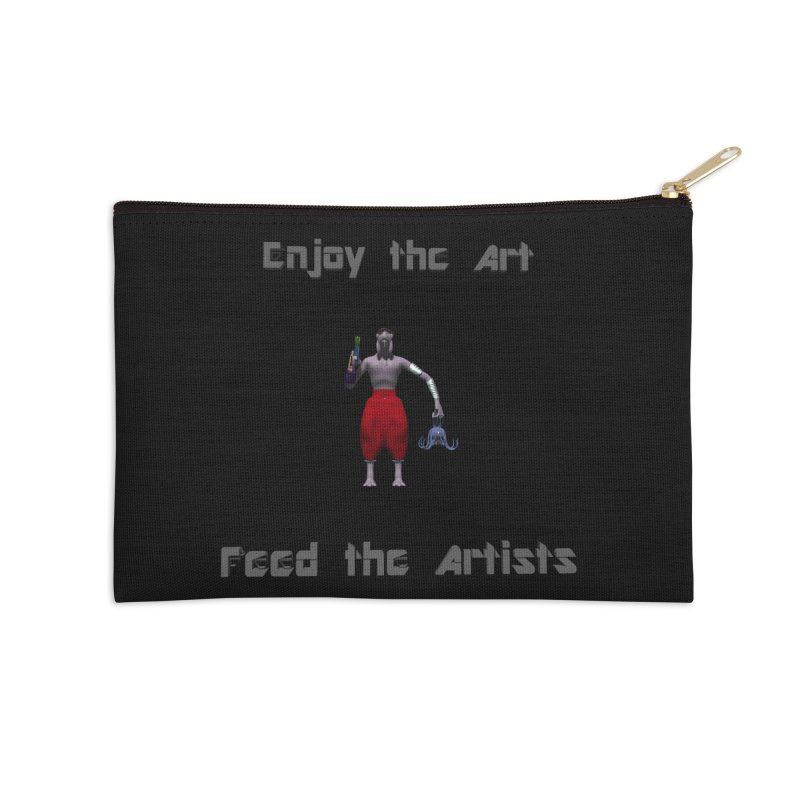 Feed the Artists (Chyrkyan casual) Accessories Zip Pouch by CIULLO CORPORATION's Artist Shop