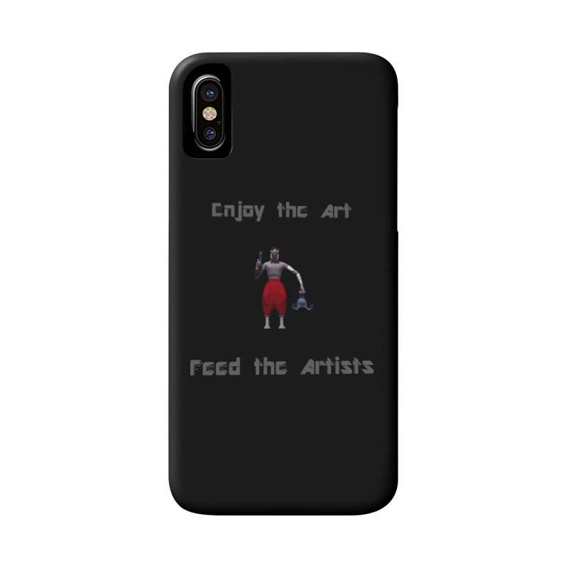 Feed the Artists (Chyrkyan casual) Accessories Phone Case by CIULLO CORPORATION's Artist Shop