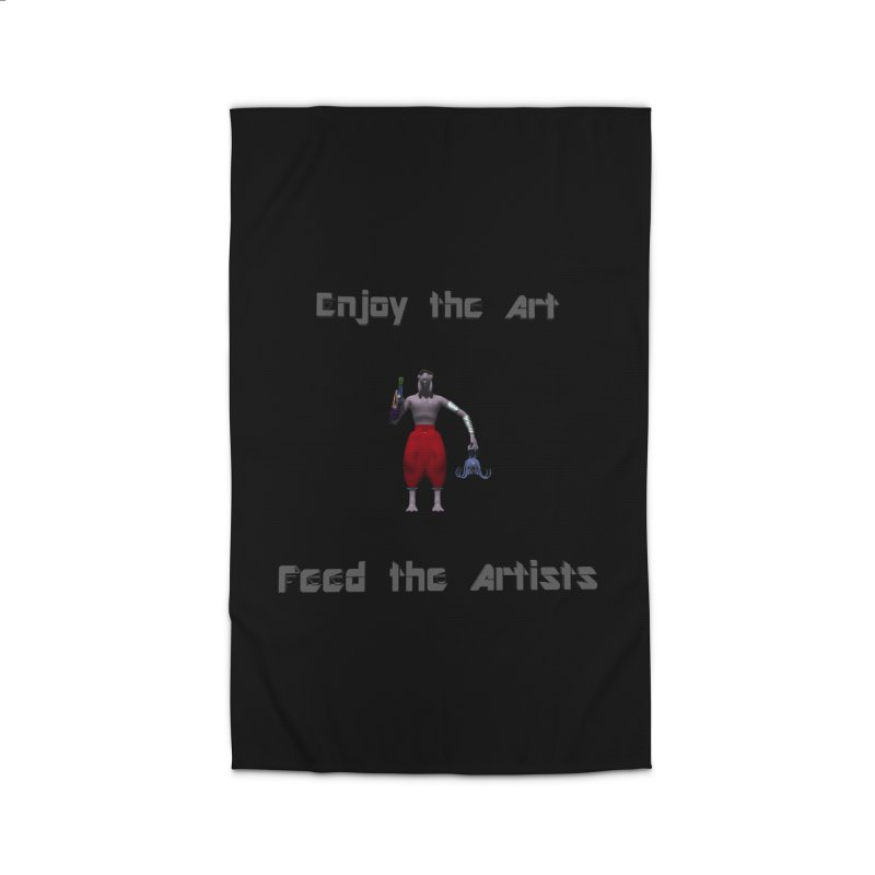 Feed the Artists (Chyrkyan casual) Home Rug by CIULLO CORPORATION's Artist Shop