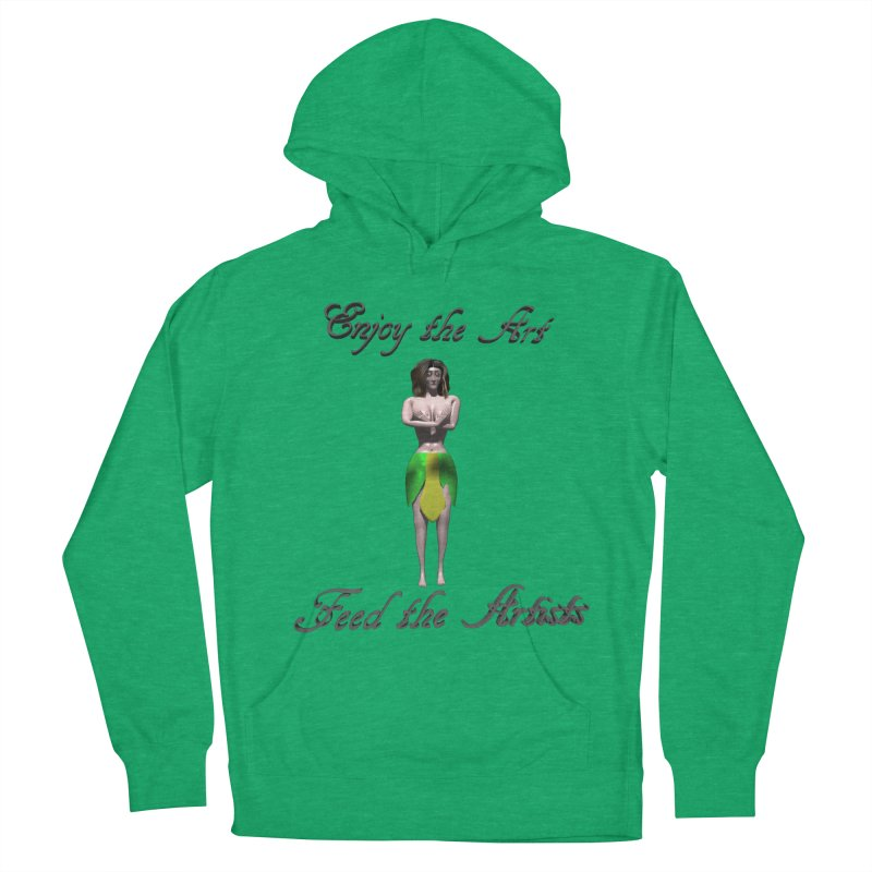 Feed the Artists (Eldir she-elf) Women's Pullover Hoody by CIULLO CORPORATION's Artist Shop