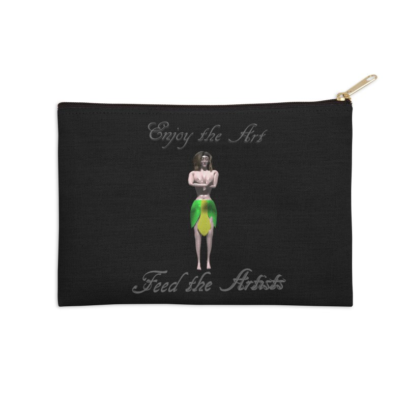 Feed the Artists (Eldir she-elf) Accessories Zip Pouch by CIULLO CORPORATION's Artist Shop