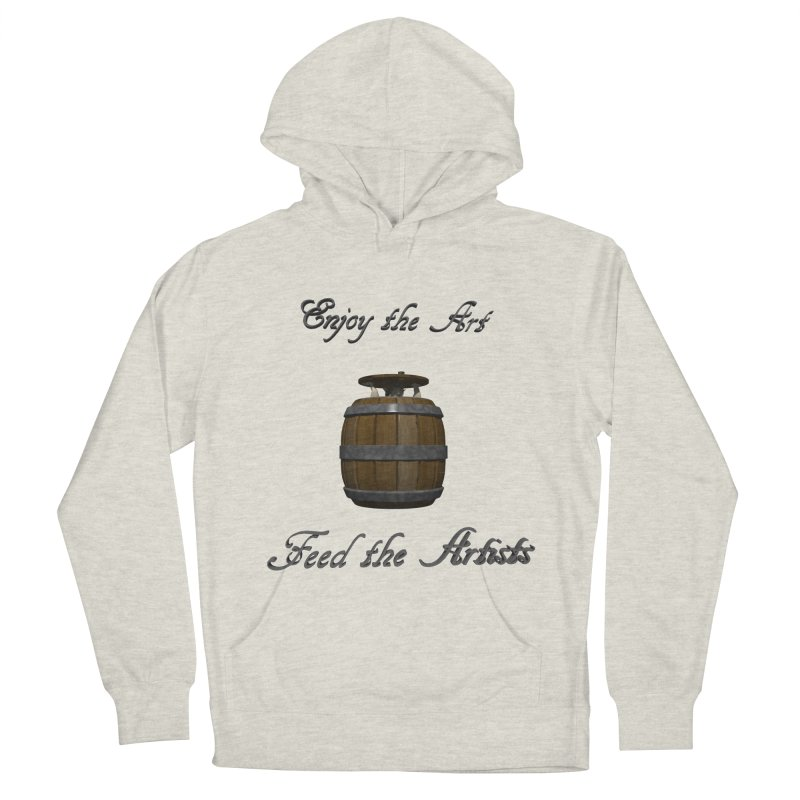 Feed the Artists (Barrel Gnome) Women's Pullover Hoody by CIULLO CORPORATION's Artist Shop