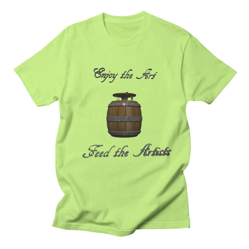 Feed the Artists (Barrel Gnome) Women's Unisex T-Shirt by CIULLO CORPORATION's Artist Shop