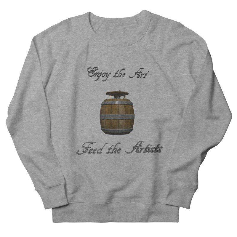 Feed the Artists (Barrel Gnome) Men's Sweatshirt by CIULLO CORPORATION's Artist Shop