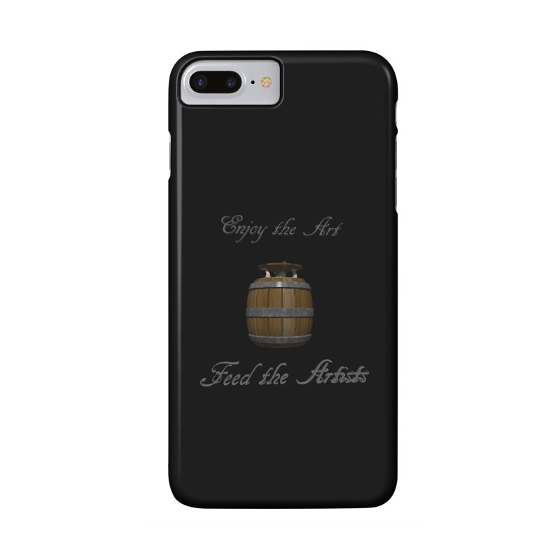 Feed the Artists (Barrel Gnome) Accessories Phone Case by CIULLO CORPORATION's Artist Shop
