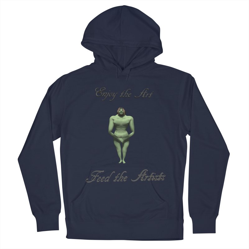 Feed the Artists (Orc) Women's Pullover Hoody by CIULLO CORPORATION's Artist Shop
