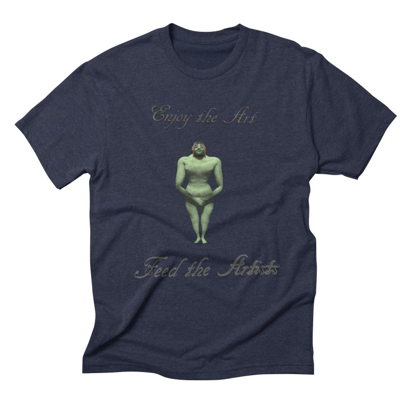 Feed the Artists (Orc) Men's Triblend T-Shirt by CIULLO CORPORATION's Artist Shop