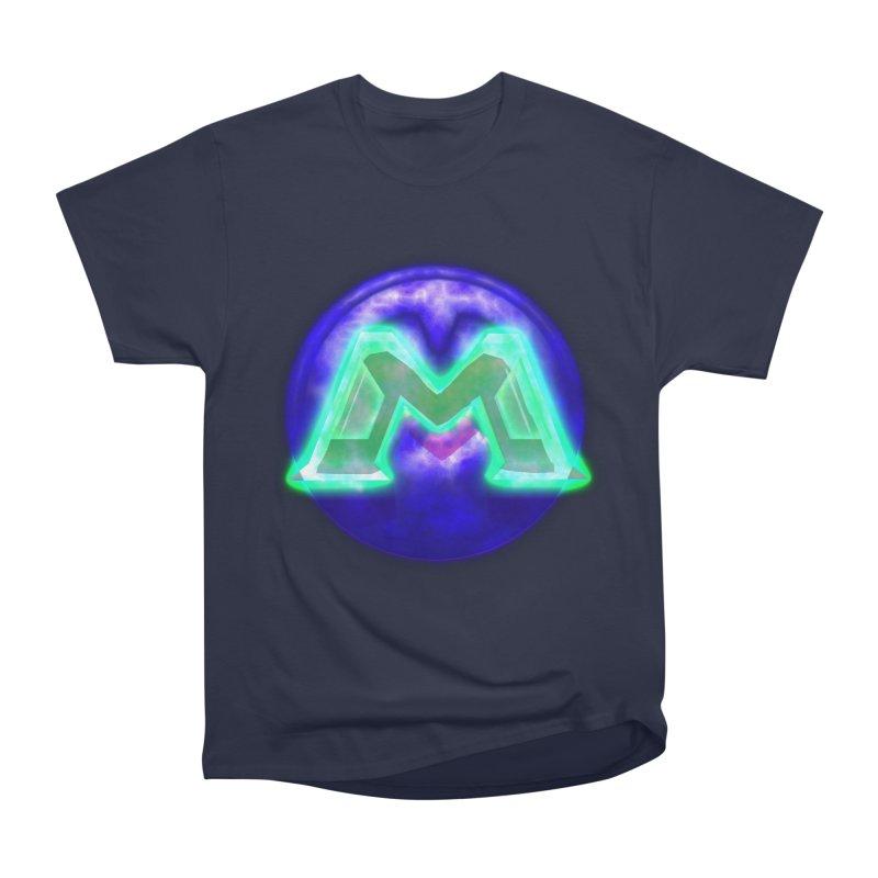 MUSS Trilogy (logo) Men's Heavyweight T-Shirt by CIULLO CORPORATION's Artist Shop