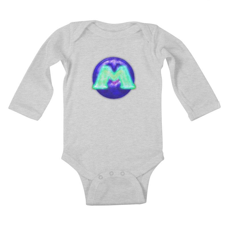MUSS Trilogy (logo) Kids Baby Longsleeve Bodysuit by CIULLO CORPORATION's Artist Shop
