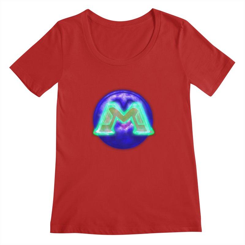 MUSS Trilogy (logo) Women's Scoopneck by CIULLO CORPORATION's Artist Shop
