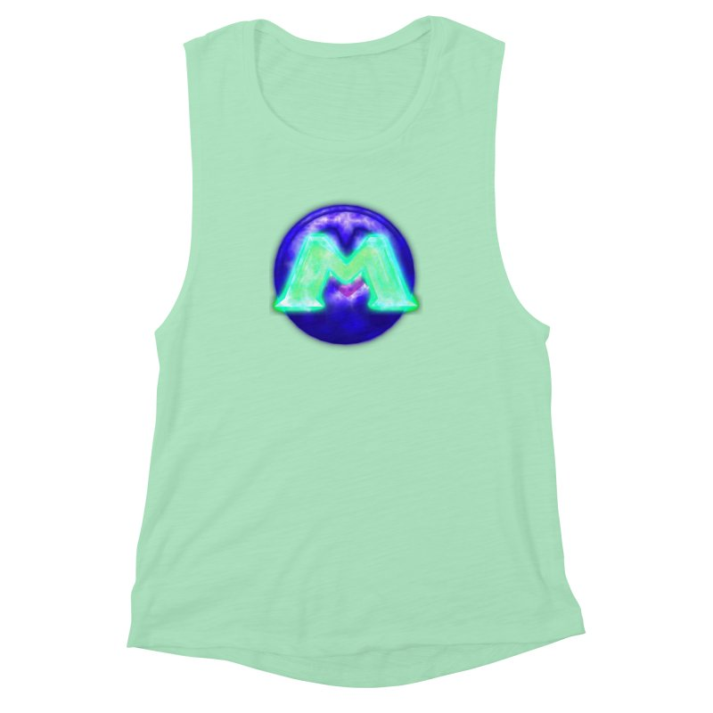 MUSS Trilogy (logo) Women's Muscle Tank by CIULLO CORPORATION's Artist Shop