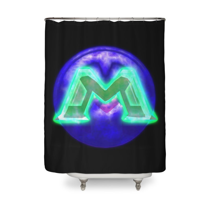 MUSS Trilogy (logo) Home Shower Curtain by CIULLO CORPORATION's Artist Shop