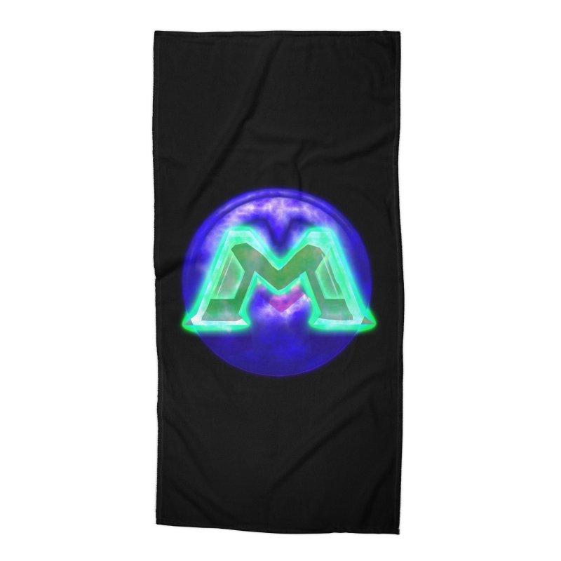 MUSS Trilogy (logo) Accessories Beach Towel by CIULLO CORPORATION's Artist Shop