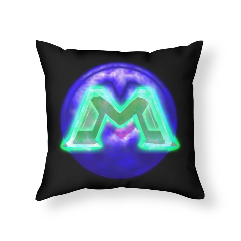 MUSS Trilogy (logo) Home Throw Pillow by CIULLO CORPORATION's Artist Shop