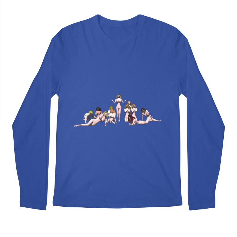 Babes of CIULLO CORPORATION (arcadiane) Men's Longsleeve T-Shirt by CIULLO CORPORATION's Artist Shop