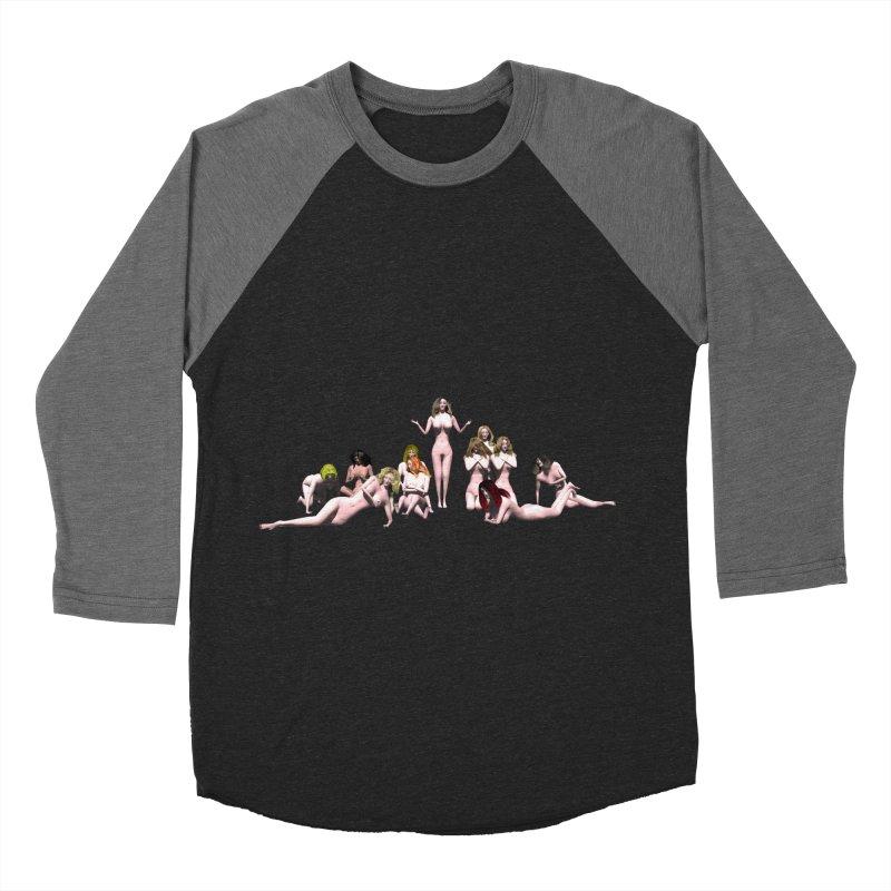 Babes of CIULLO CORPORATION (arcadiane) Women's Baseball Triblend T-Shirt by CIULLO CORPORATION's Artist Shop