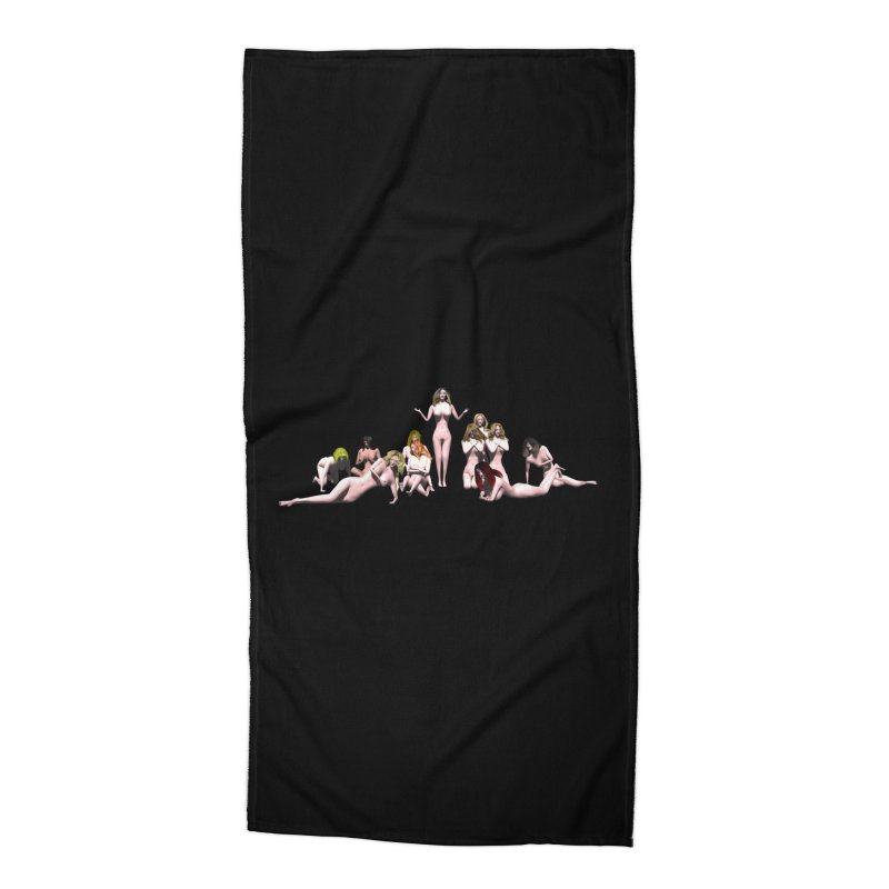 Babes of CIULLO CORPORATION (arcadiane) Accessories Beach Towel by CIULLO CORPORATION's Artist Shop