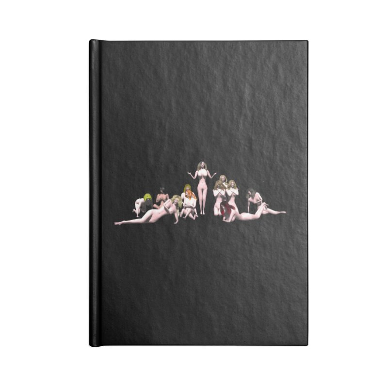 Babes of CIULLO CORPORATION (arcadiane) Accessories Notebook by CIULLO CORPORATION's Artist Shop
