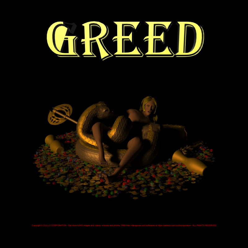 32. Greed - Amphysbaena Dudes of CIULLO CORPORATION T-Shirt by CIULLO CORPORATION's Artist Shop