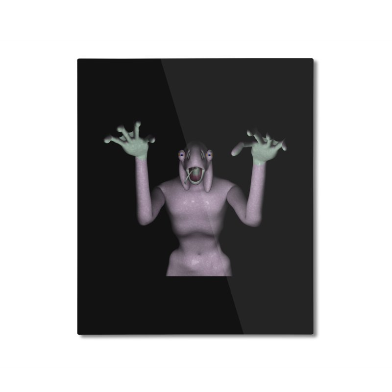 Scary Chyrkyan Home Mounted Aluminum Print by CIULLO CORPORATION's Artist Shop