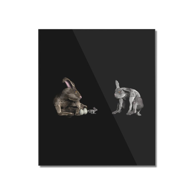 Easter Bunnies Home Mounted Acrylic Print by CIULLO CORPORATION's Artist Shop