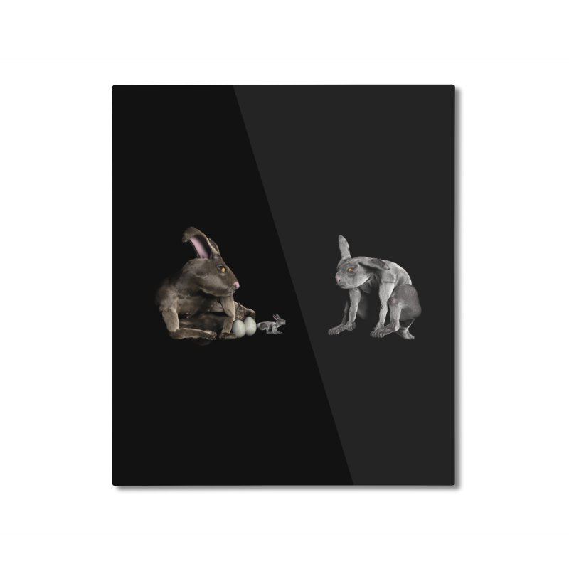 Easter Bunnies Home Mounted Aluminum Print by CIULLO CORPORATION's Artist Shop