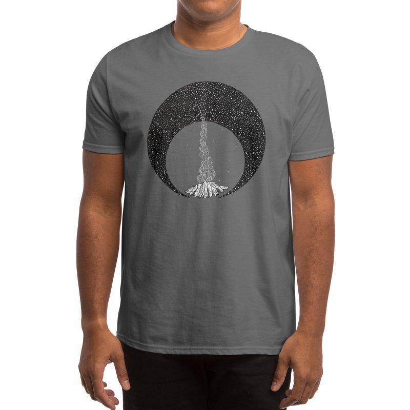 Summer night Men's T-Shirt by ckai's Artist Shop