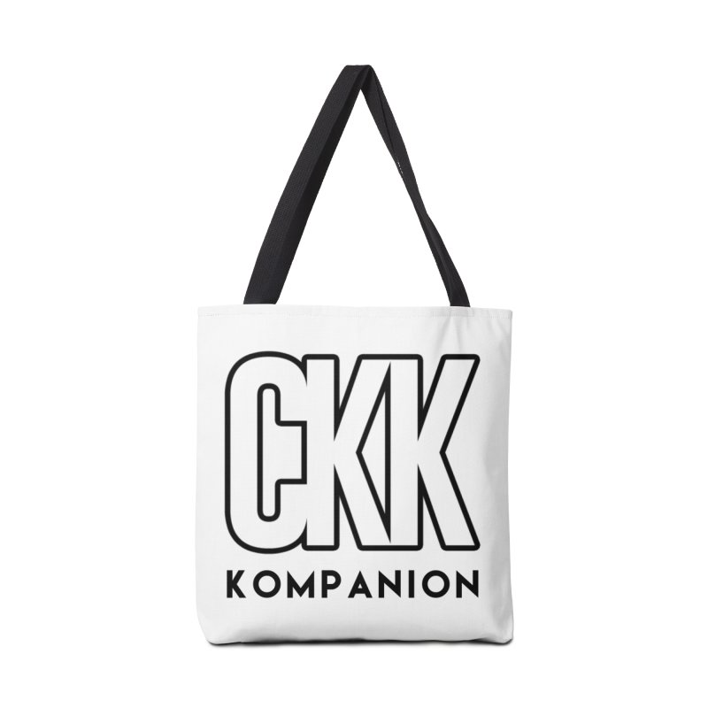 CKK Logo (Outline) Accessories Bag by ckkompanion's Artist Shop
