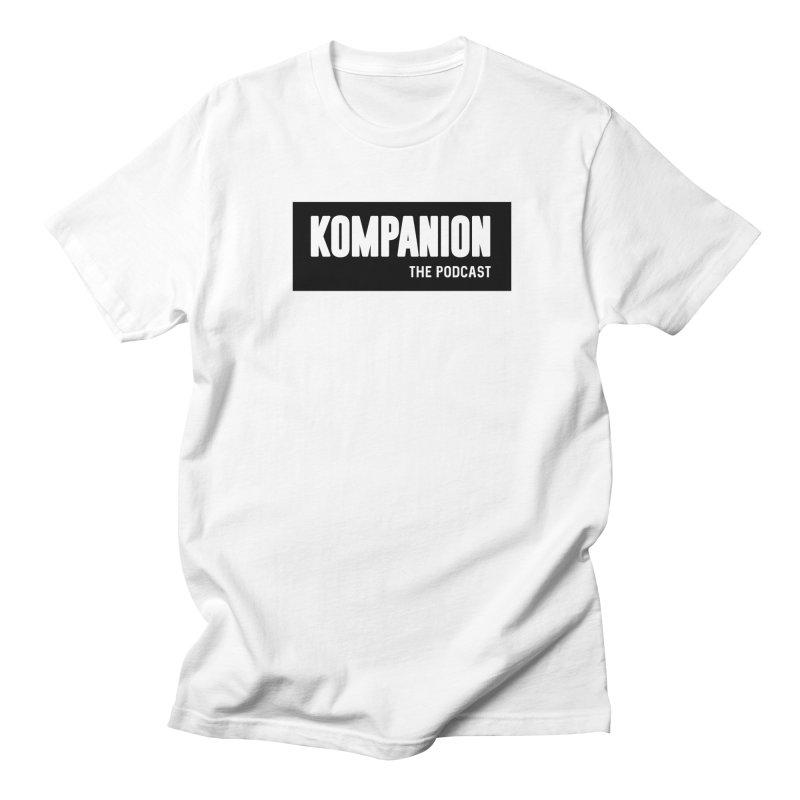Kompanion the Podcast Men's T-Shirt by ckkompanion's Artist Shop