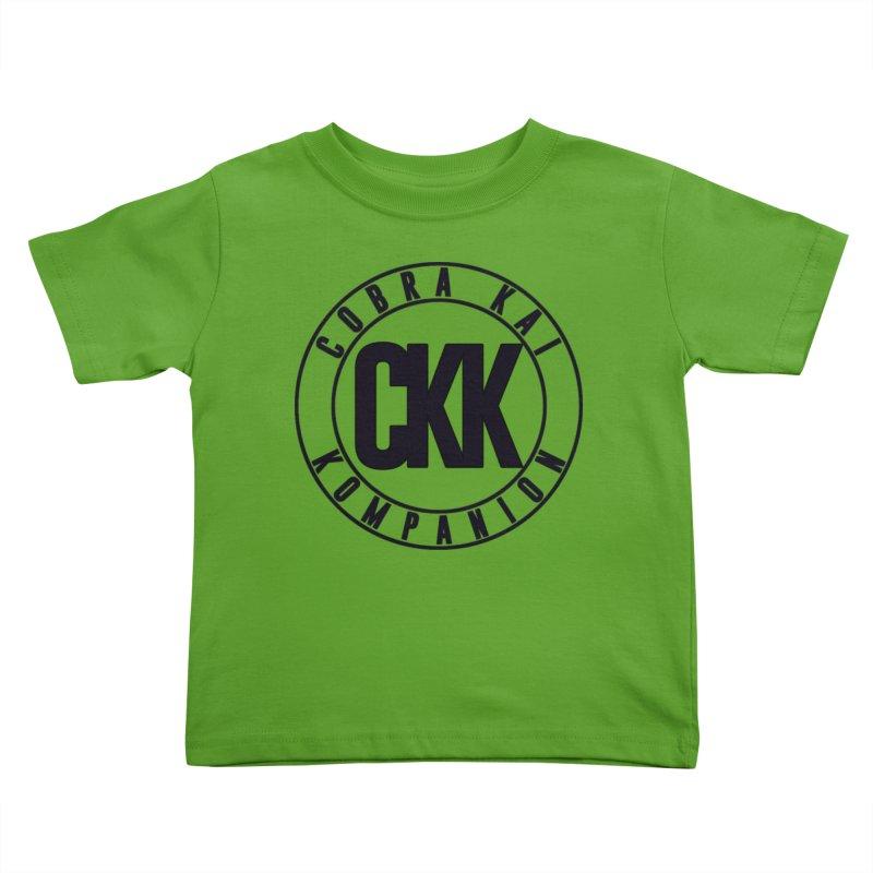 Kompanion Badge (Outline) Kids Toddler T-Shirt by ckkompanion's Artist Shop