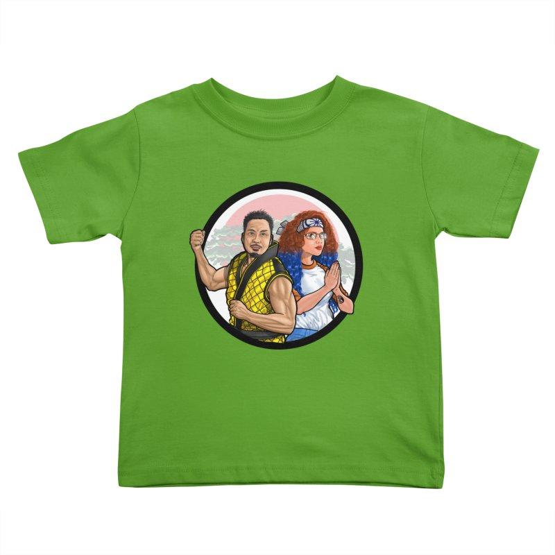 Comic Peter and Brihana (Duo) Kids Toddler T-Shirt by ckkompanion's Artist Shop