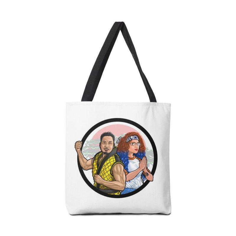 Comic Peter and Brihana (Duo) Accessories Bag by ckkompanion's Artist Shop