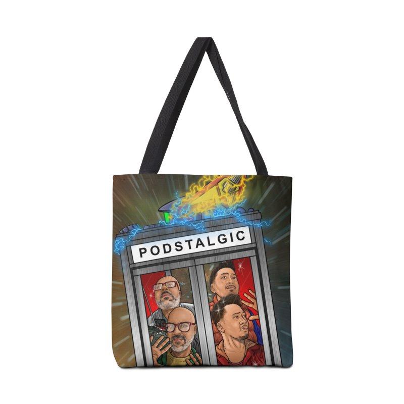 Podstalgic Logo (Bonus design) Accessories Bag by ckkompanion's Artist Shop