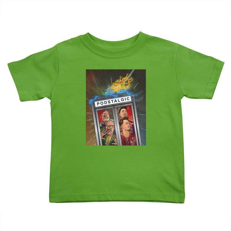 Podstalgic Logo (Bonus design) Kids Toddler T-Shirt by ckkompanion's Artist Shop
