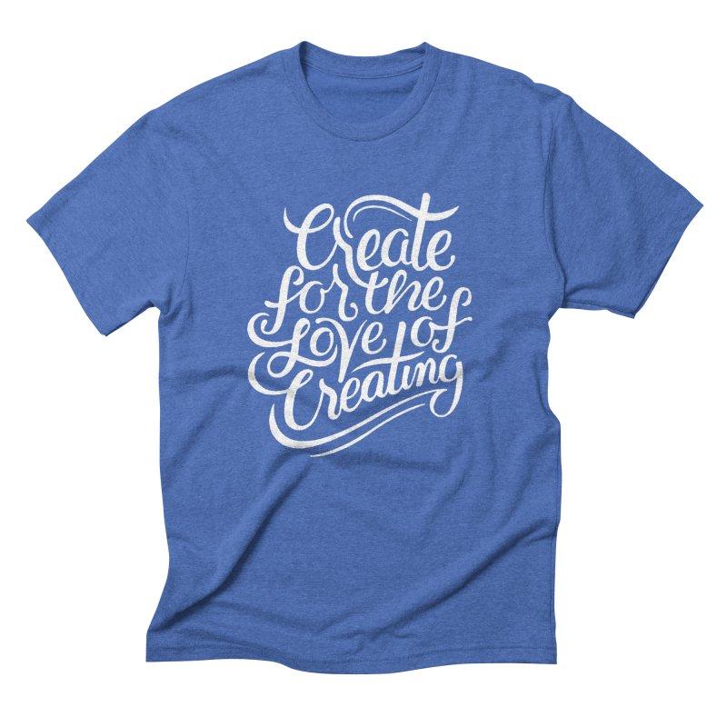 Create Men's Triblend T-shirt by Claire Bischoff's Artist Shop
