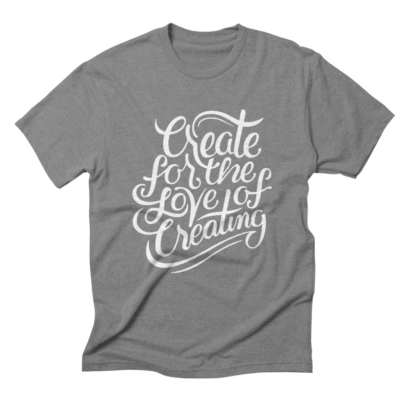 Create Men's Triblend T-shirt by Claire Bischoff's Artist Shop