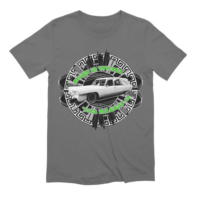 Home is Where the Hearse Is Men's Extra Soft T-Shirt by Clare Bohning's Shop