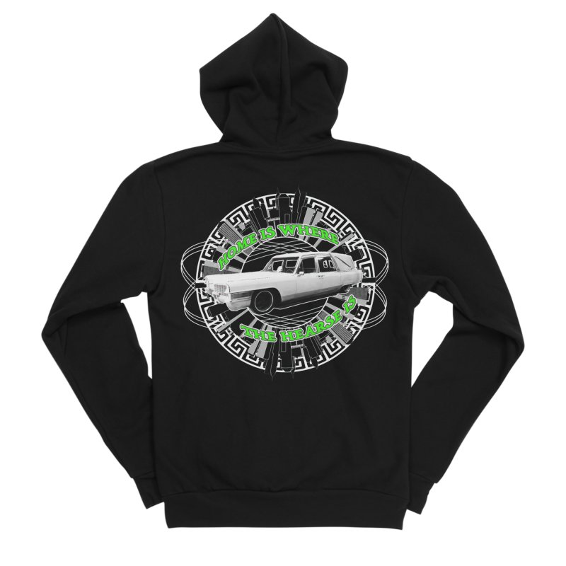 Home is Where the Hearse Is Women's Sponge Fleece Zip-Up Hoody by Clare Bohning's Shop